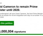 david cameron petition